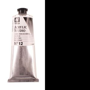 Vallejo Acrylic 125ml Tube - Mars Black PTAV125MB