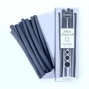 DACHSP 12x Scene Painters Sticks Charcoal