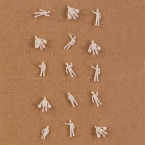 Scale White Figues - Pack of 100 pieces - MODFG1.200