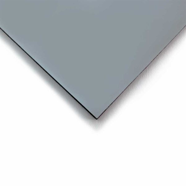 3mm Acrylic Metalic Silver 1000 x 500mm Sheet ACR3IMS