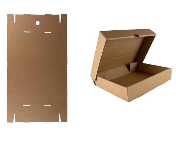 Flat-pack A4 storage box