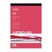 A3 Pad Multi Media Art Board 10 Sheets - PADABA3