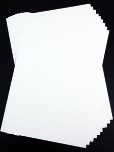 A4 300gsm White Card, 50 Sheet Pack CDW6SA4