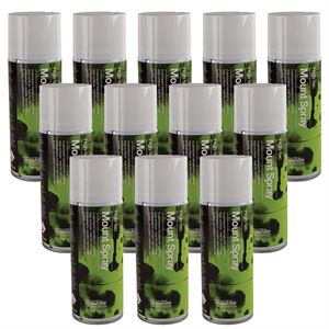 Seawhite Hi-Tac Mount Spray, 400ml, pack of 12 - SPM4HT12
