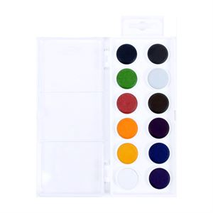 Koh-I-Noor Anilinky Brilliant Watercolours set of 12 PTBRW12