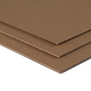 MBKRA1 A1 Corrugated Kraft 25 sheet pack