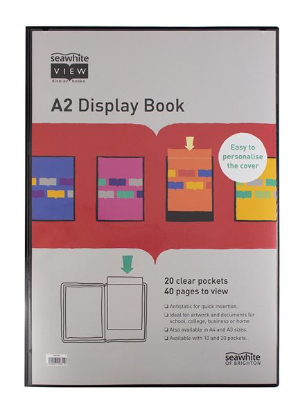 Display Book A2 (20 pockets)