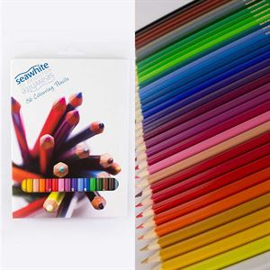 DACPEN36SW Box of 36 Seawhite Coloured Pencils