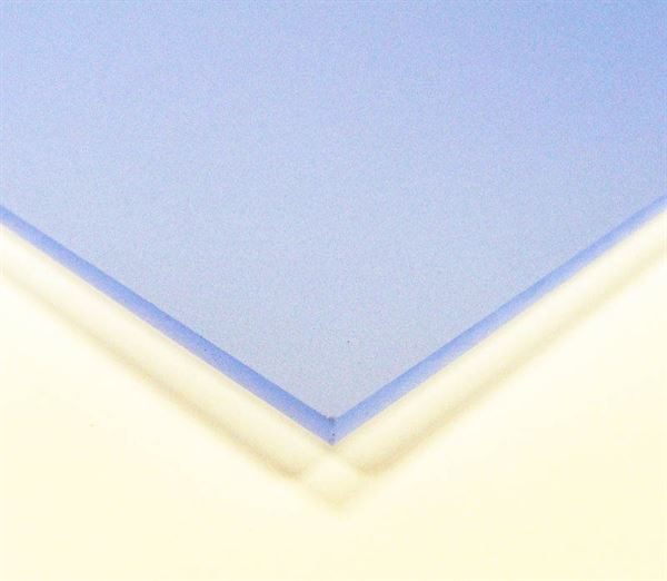 Electric Blue 3mm Frosted Acrylic Sheet A4 ACR3FRBLA4