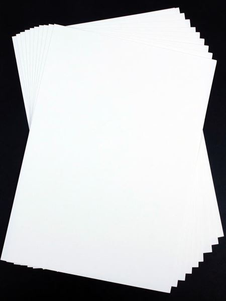 A1 300gsm White Card, 50 Sheet Pack CDW6SA1